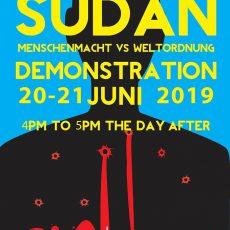 Sudan: Sit-In gegen die Sudan-Konferenz in Berlin